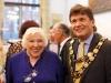Fay Weldon and the Mayor of Marlborough