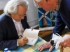 AC Grayling signing books