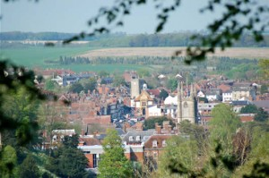 A view of Marlborough rooftops