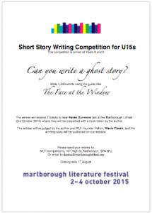 Marlborough Literature Festival   Writing Competition for children