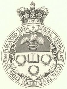 Royal Literary Fund Crest